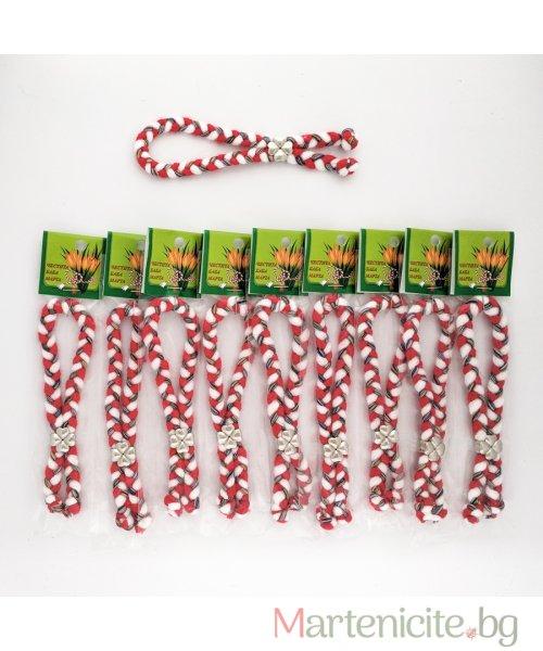 Мартеница гривна цветен късмет - опаковка 10бр. - модел 421