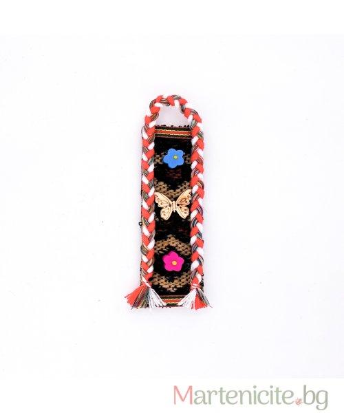 """Декоративна мартеница """"Декориран килим"""" - модел 828"""