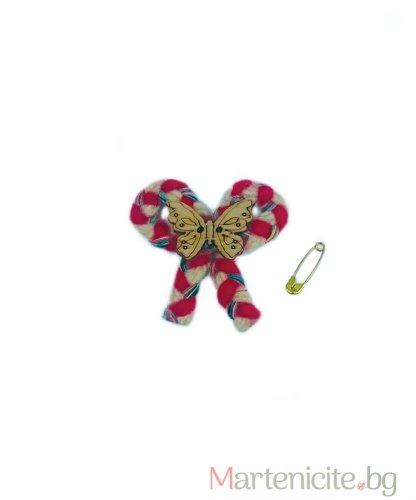 "Мартеница ""Пеперуда на панделка"" - опаковка 10бр."