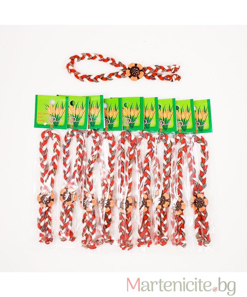 """Мартеница гривна """"Цветна пролет"""" - опаковка 10 бр. - модел 445"""